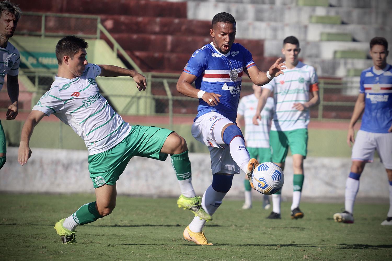 Em jogo movimentado, Ju fica no empate contra o Bahia pelo Brasileiro de Aspirantes