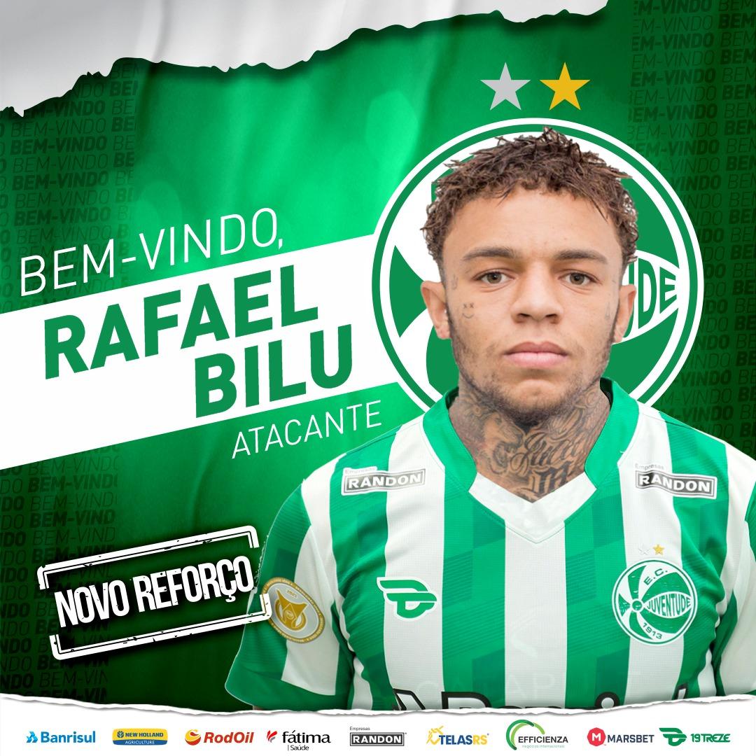 Rafael Bilu é o novo atacante do Juventude